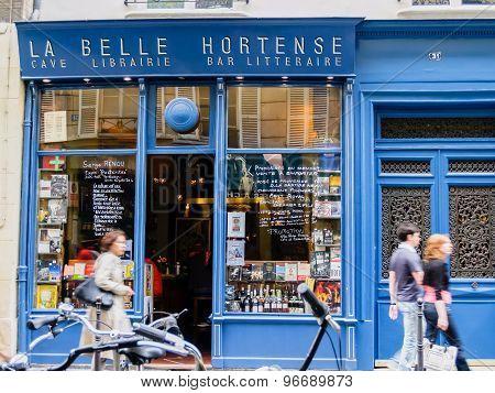 La Belle Hortense, Marais, Paris.