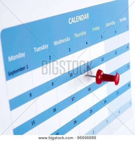 Pinned On Calendar
