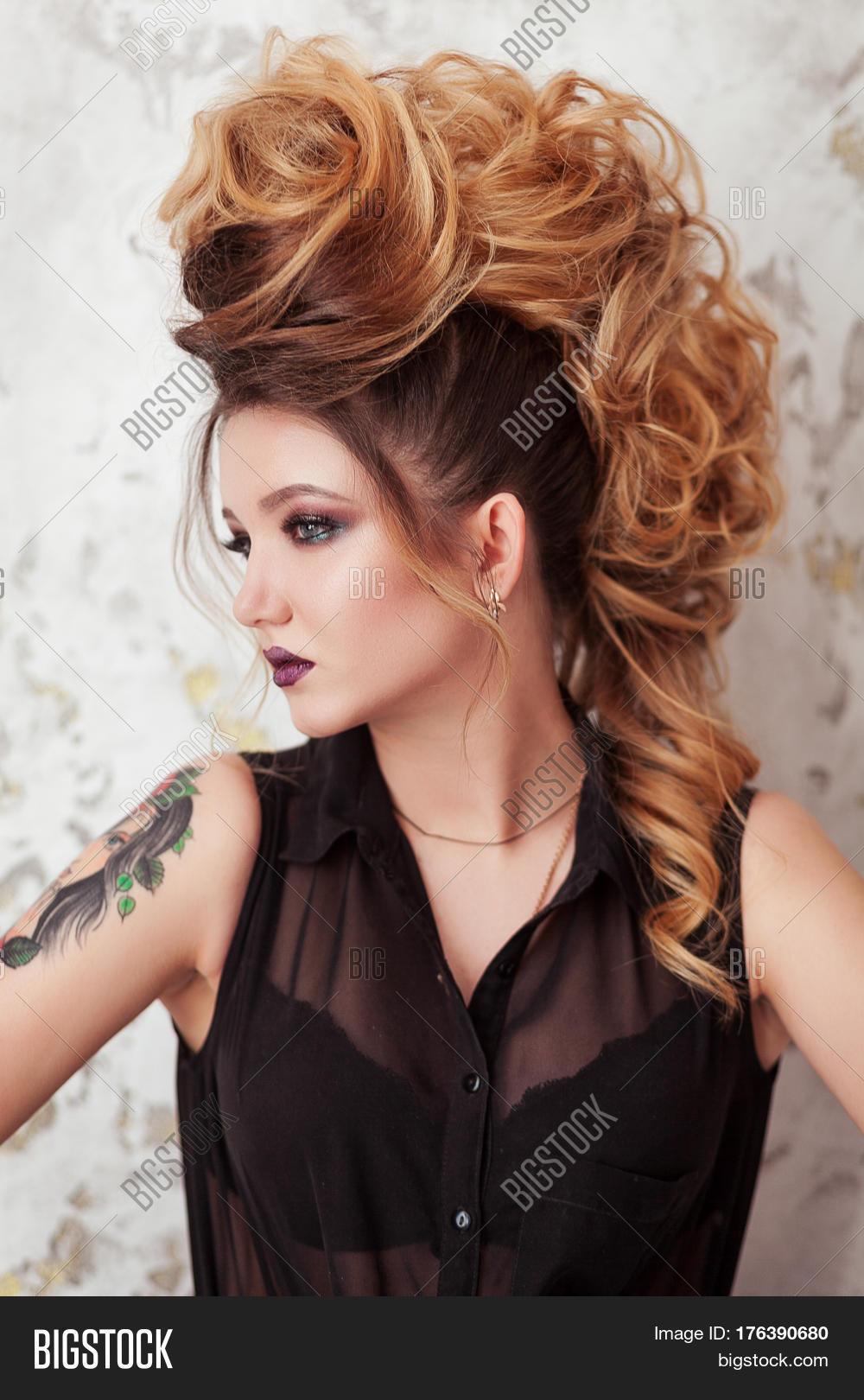 Fashion Shiny Makeup Image Photo Free Trial Bigstock