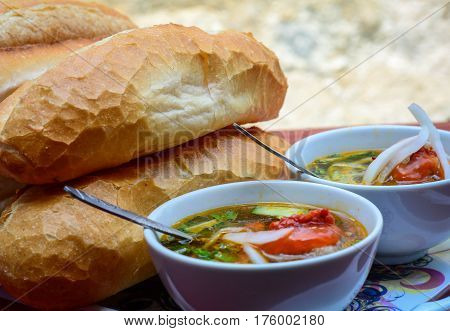 Vietnamese Bread With Hot Pork