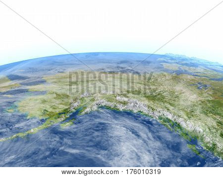 Alaska On Planet Earth