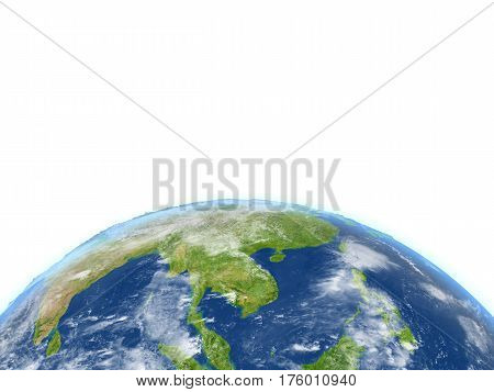 Indochina On Planet Earth