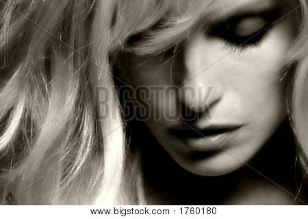 Closeup Blonde