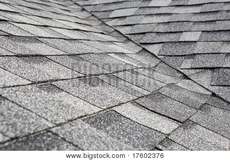 Newly installed roof