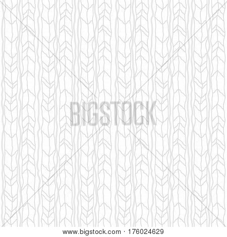 White texture seamless pattern, Geometric roughten zig zag texture background. Swatches included in file.