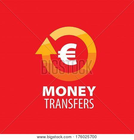 logo design template remittances. Vector illustration of icon