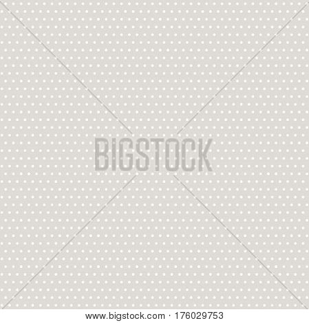 Seamless geometric silver pattern. Modern ornament with dotted elements