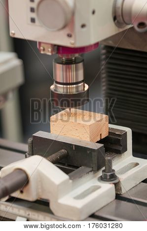 Drill Press, Close Up, Color Image, Vertical Image
