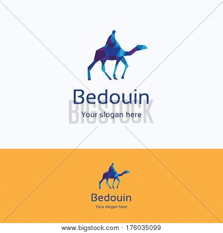 Bedouin On Camel Logo