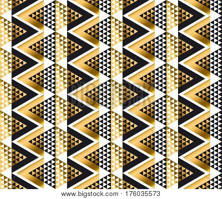 modern geometry American indian tribal seamless pattern. luxury fashionable wrapping paper, fabric, background