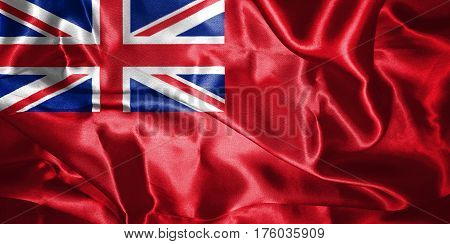 Variant Flag Of The United Kingdom Of Great Britain And Northern Ireland 3D Illustration