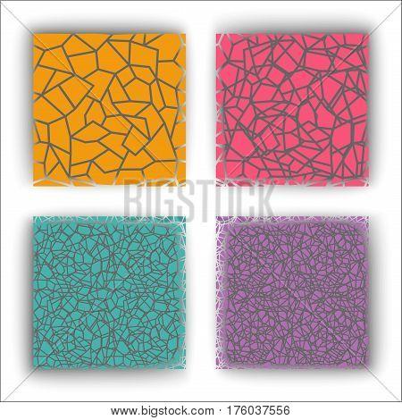 infinite pattern of lines, cracks, seamless, texture