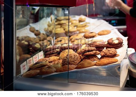 Biscuits On Display At Covent Garden