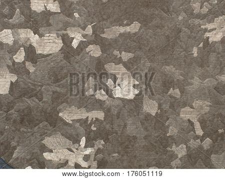 Close Up Zinc Plate Texture Background