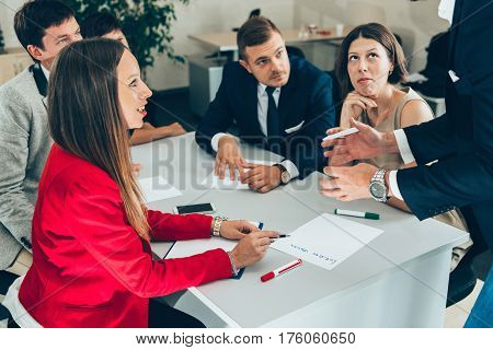 Discussion On Meeting In Office