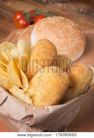 Croquettes Of Potatoes