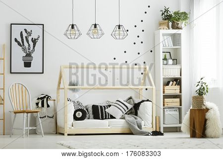 Baby Bedroom In Scandinavian Style