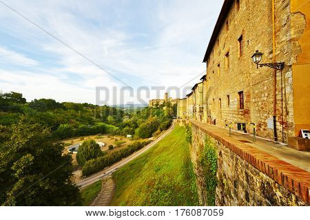 View of the Medieval City in Italy