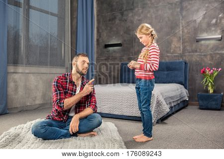 Father Edifying Daughter
