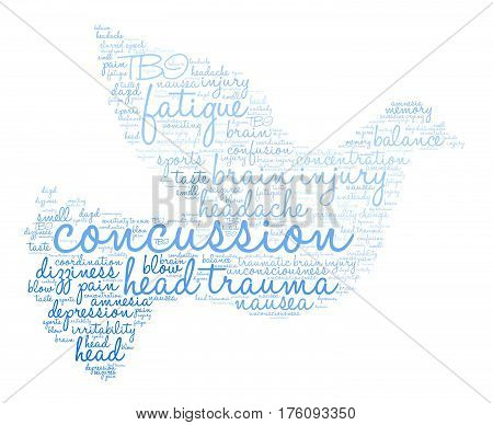Concussion Word Cloud