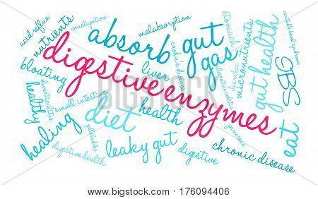 Digestive Enzymes Word Cloud