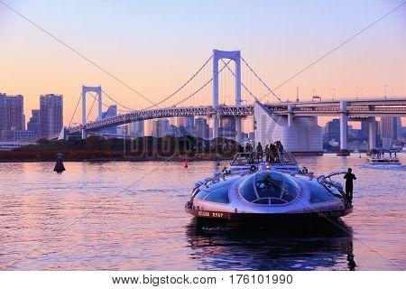 Tokyo Tour Boat