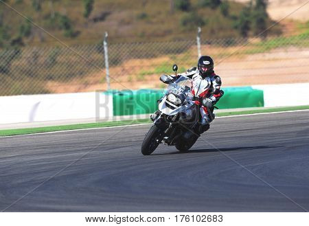 PORTIMAO, PORTUGAL - MARCH 10: Test tour, Supersports on Superbikes, Algarve, Portimao on MARCH 10, 2017.
