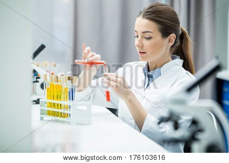 Female Scientist In Lab