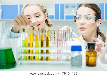 Female Scientists In Lab