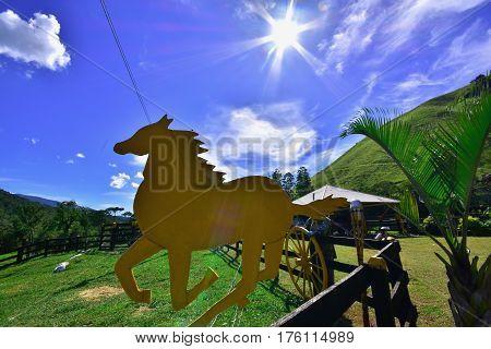 The beauty of the farm. Minas Gerais