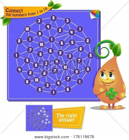 Connect The Numbers From 1 To 10