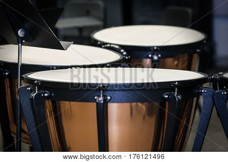 The Timpani, the backbone of the percussion section