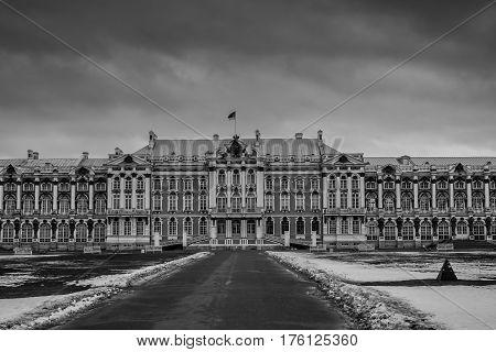 Catherine Palace In Tsarskoye Selo, Pushkin, Saint Petersburg