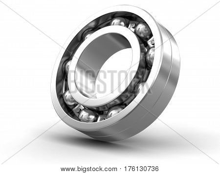 3D Illustration. Bearing. Image with clipping path