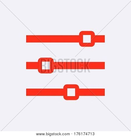 level icon stock vector illustration flat design