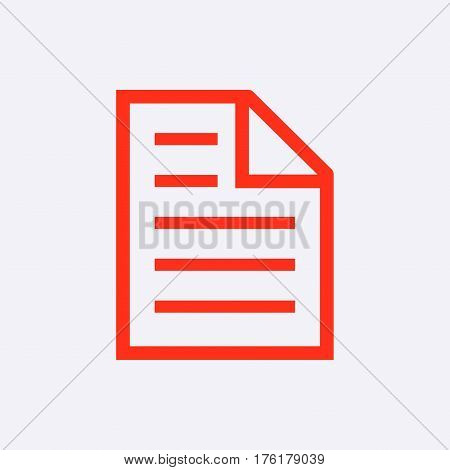 checklist  icon stock vector illustration flat design