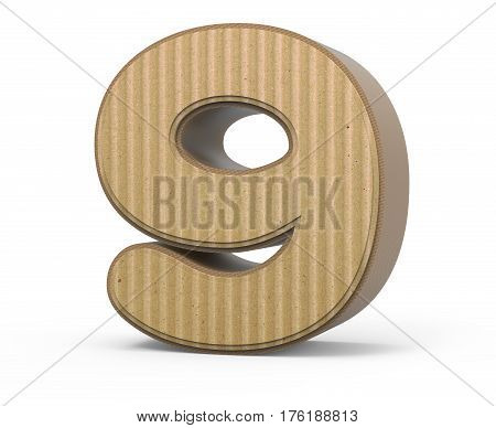 Corrugated Number 9