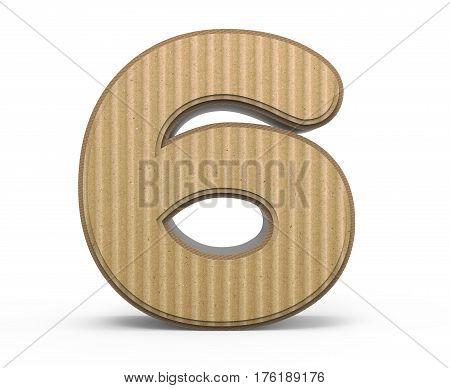 Corrugated Number 6