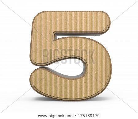 Corrugated Number 5