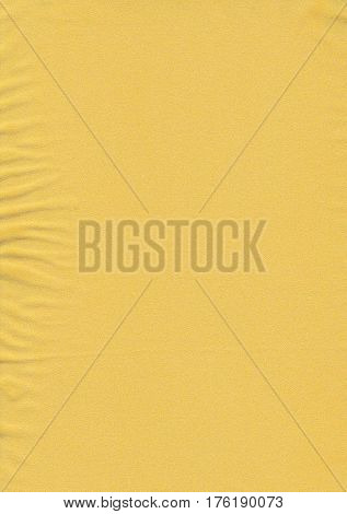 Yellow or Golden abstract background. Golden organza fabric