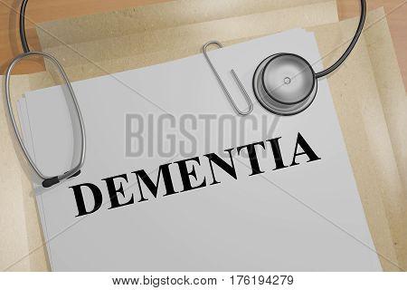 Dementia - Medical Concept