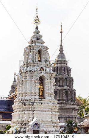 Pagoda in wat ban den , Chiang mai Thailand