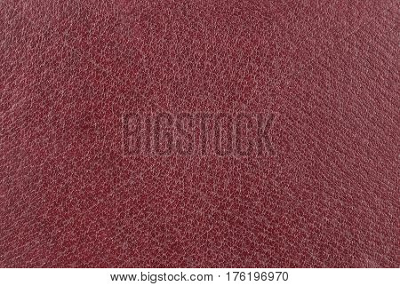 Maroon leather background