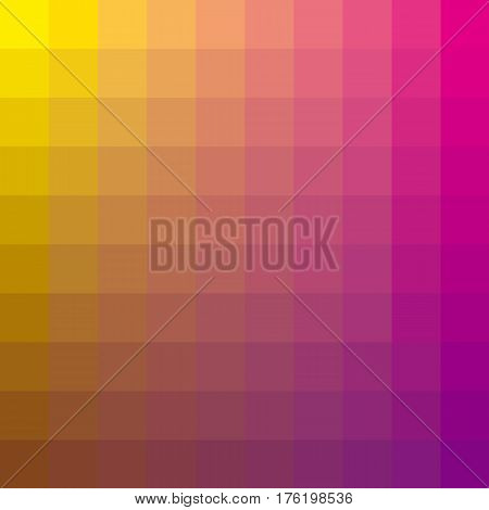 pink abstract concept geometry background with squire shapes. color gradient vector illustration for background, wallpaper, covers, flayer backdrop.