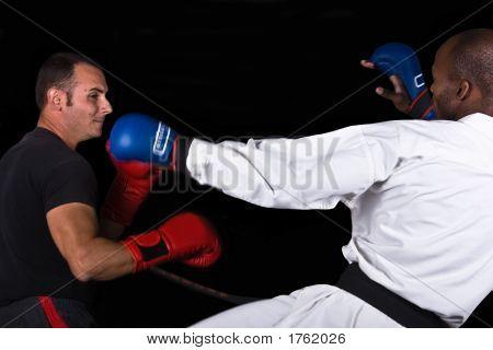 Kickboxing Versus Karate