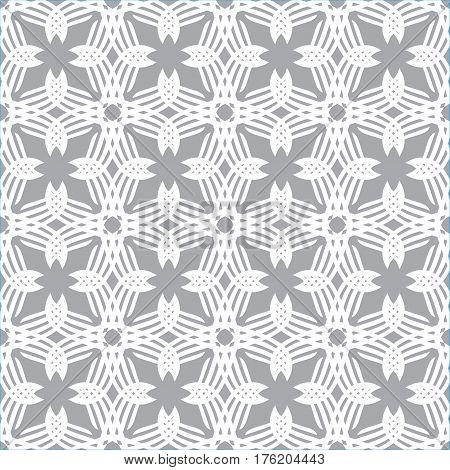 Seamless abstract vintage light pattern. Vector illustration