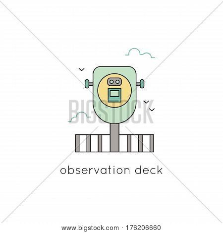 Observation Deck Vector & Photo (Free Trial) | Bigstock