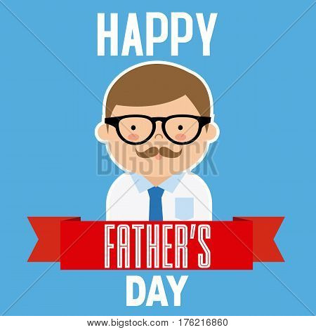 happy fathers day. Funny congratulations card for dad
