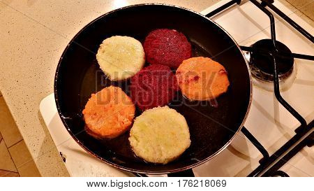 Delicious Vegetables Cutlets