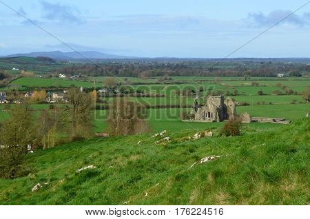 Ruins of Hore Abbey in County Tipperary Ireland.